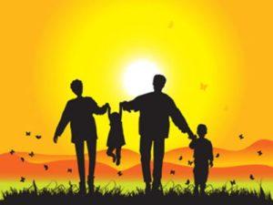Famiglia serena